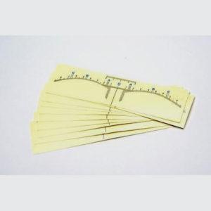 adhesive rulers